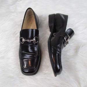 Gucci Vintage Classic Horsebit Loafers Sz 7.5AA